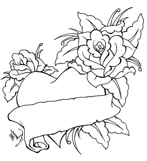 coloring pages of roses bow coloring pages coloring pages of roses and
