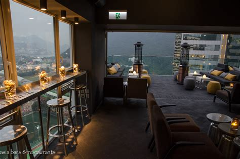 roof top bar hong kong above rooftop bar at ovolo southside hong kong asia