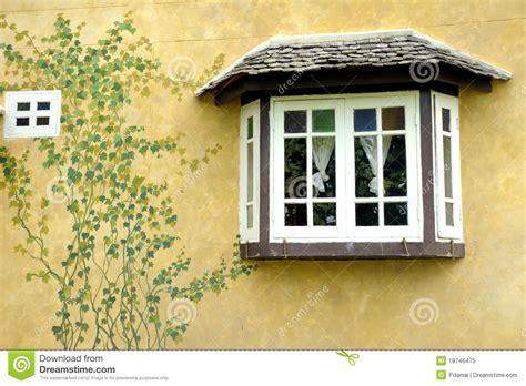 beautiful house windows retro windows beautiful wall old house royalty free stock photo image 18746475