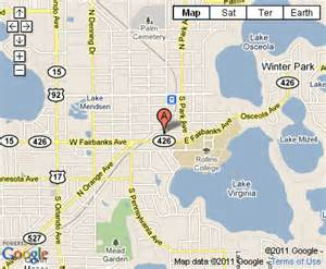 map of florida winter park fl pictures to pin on
