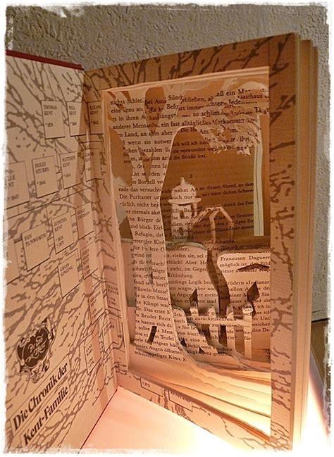 snow city   light book creation  piece  book art