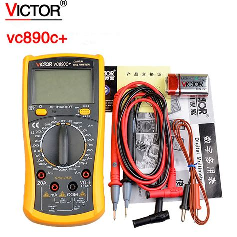 free shipping victor vc890c digital multimeter true rms