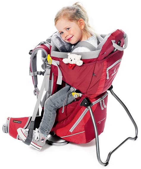 Deuter Kid Comfort Sun Roof And Cover by Deuter Kid Comfort Ii Child Carrier Cranberry With