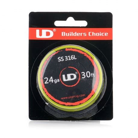 authentic ud 316 stainless steel 24 awg 6 95 ohm