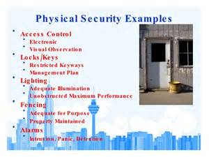 physical security survey template physical security assessment