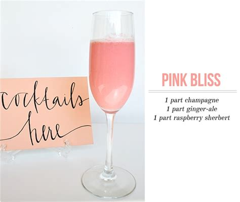 pink punch recipe for wedding shower cocktails 171 houston wedding