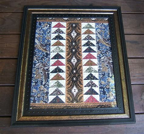 Civil War Reproduction Quilts by Flying Geese Civil War Reproduction Framed Quilt 16 X