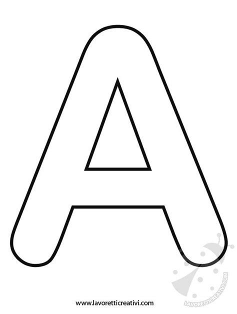 lettere dell alfabeto da colorare e ritagliare lettere dell alfabeto a b c d e f lavoretti creativi
