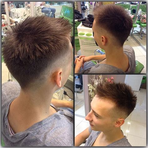 faded sides into a fohawk fohawk fade 15 coolest fohawk haircuts and hairstyles