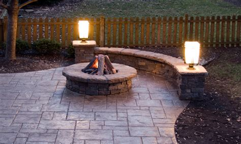 Patios And Firepits Pit Patios Sted Concrete Patio With Pit Sted Concrete Patios And Bars With Bbq