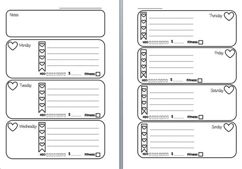 Printable Planner Inserts