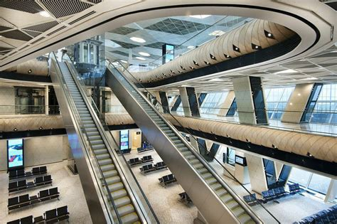 airport design editor gate autoban heydar aliyev airport terminal interior port