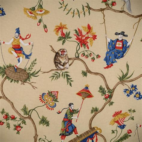 scalamandre wallpaper chinoiserie chic scalamandre ming circus and patience