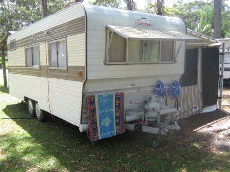 caravan awnings sydney 1986 coronet 20ft family bunk caravan for sale from new