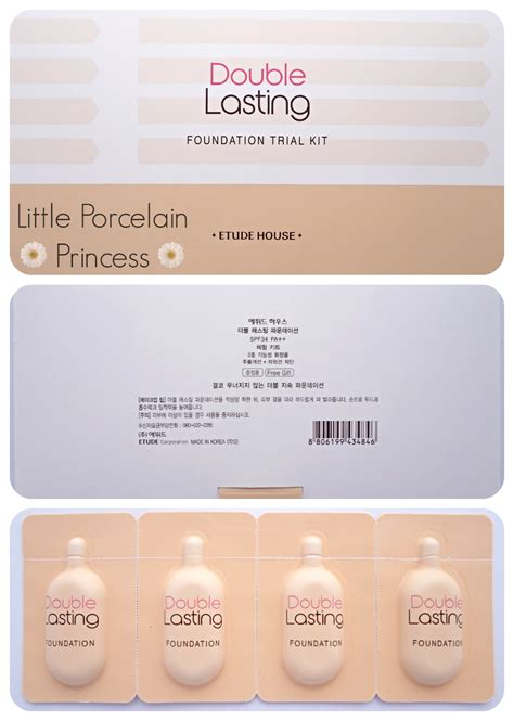 Etude Foundation porcelain princess review etude house