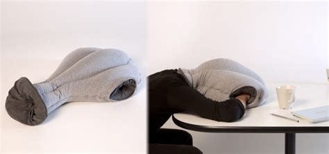 How To Make A Desk Pillow by Ostrich Pillow Lets You Sleep At Your Desk Ubergizmo