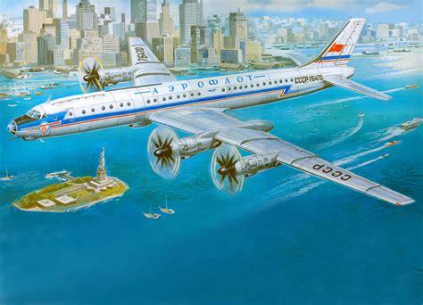 painting airplane photo new york city airplane passenger airplanes usa 9906x7151