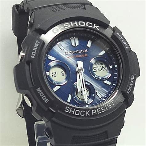 casio g shock awg m100sb 2ajf 楽天市場 あす楽対応 電波 ソーラーg shockデジタル アナログモデル awg m100sb 2ajf 小池時計店
