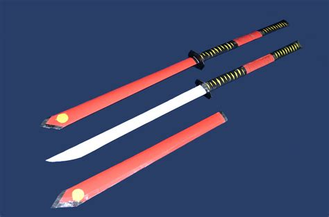 How To Make A Paper Samurai Sword - how to make a paper sword nagamaki samurai