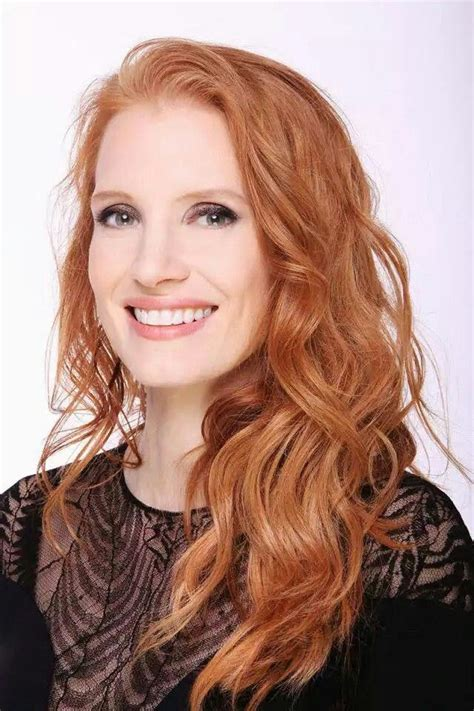 british actress with red curly hair jessica chastain j chastain k winnick pinterest