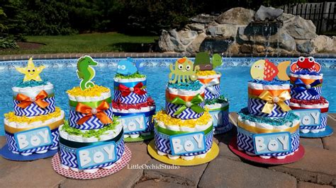 Baby Shower The Sea Theme by The Sea Baby Shower It S A Boy By Littleorchidstudio