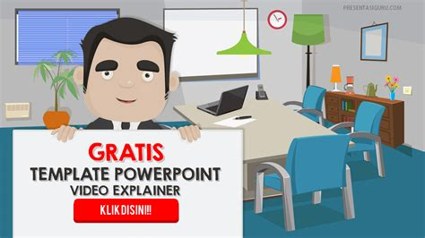 Download Arsip Presentasi Guru Explainer Template