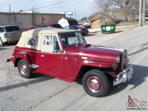 1949 willys jeepster 1949 willys jeepster
