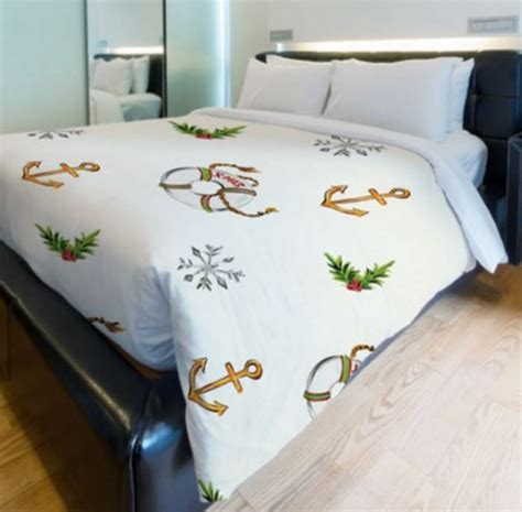 Home Decor For Christmas Holidays Nautical Christmas Bedding Nautical Snob