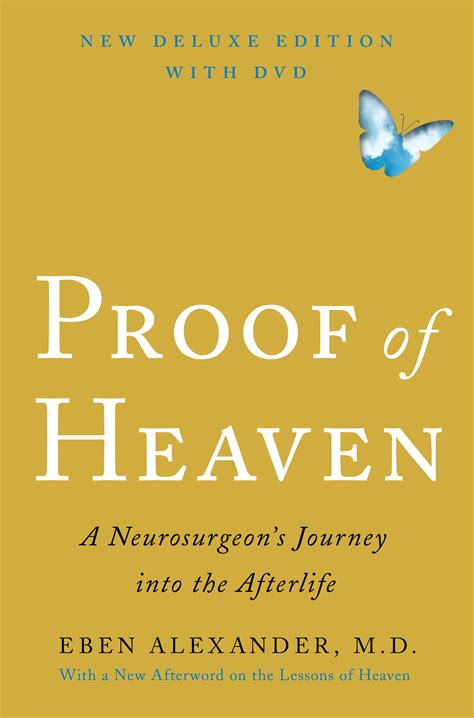 heaven book proof of heaven deluxe edition with dvd book by eben official publisher