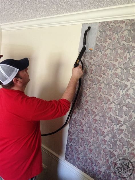 easy remove wallpaper for apartments easy wallpaper removal with the homeright steammachine