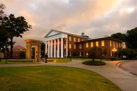 Ole Miss Mba Class Profile by Of Mississippi Profile Rankings And Data