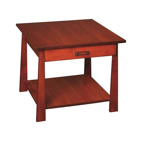 large end table craftsmen large end table solid maple end table amish