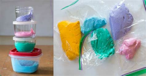 cara membuat slime dengan eye drops fluffy slime recipe how to make a rainbow of super
