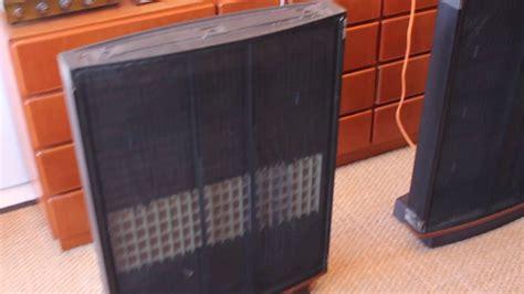 quad esl  electrostatic speakers youtube