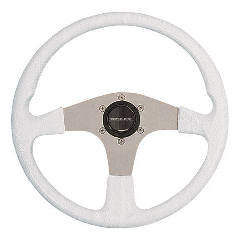 boat steering wheel maintenance uflex usa corse steering wheel white grip silver spokes