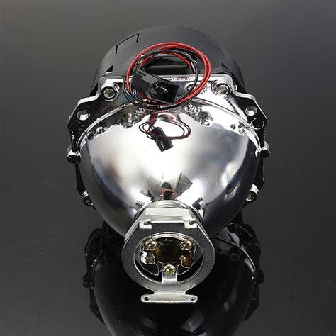 Lu Hid Motor Merk Xenon 2 5 inch motor bi xenon hid projector angle eye halo lens headlight alex nld