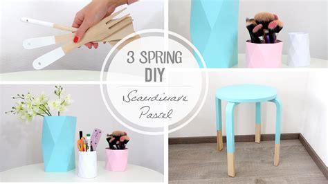 Desk Decor by 3 Diy D 233 Co Pastel Scandinave Youtube