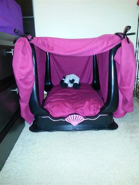 diy canopy dog bed   lucy  christmas
