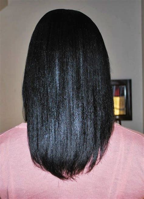 growing healthy relaxed hair growing healthy