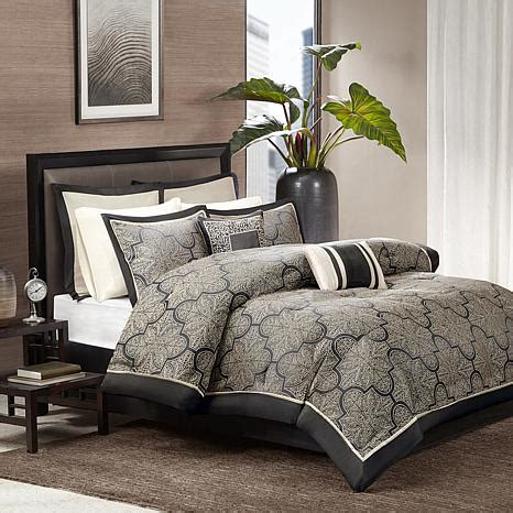 madison park bedding website madison park medina black comforter set 10070335 hsn