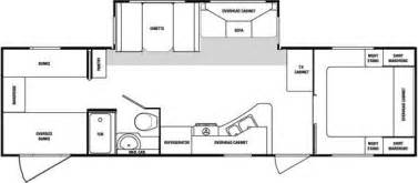 Sunnybrook Rv Floor Plans by 2008 Sunnybrook Sunset Creek 298bh Travel Trailer