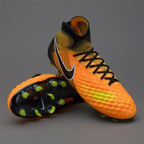 Sepatu Bola Terbaru Soccer Nike Magista Obra Ii Fg Wolf Grey sepatu bola nike magista obra ii fg laser orange black white