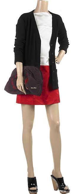 Kate With Miu Miu Pleated Tie Dye Clutch by Miu Miu Oversized Suede Clutch Purseblog