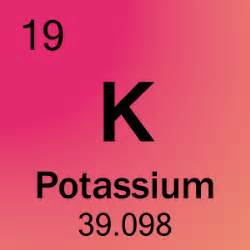 element 19 potassium science notes and projects