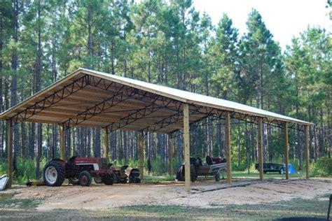 Steel Pole Barn Metal Trusses For Pole Barns Studio Design Gallery