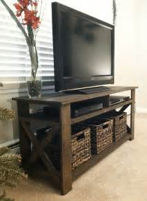 Home Decor Stands by Created A Rustic Tv Stand From Old Palettes Home