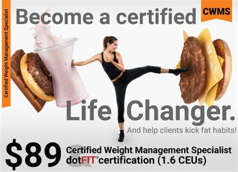 weight management specialist certification 17 best images about fitness evolution on meal