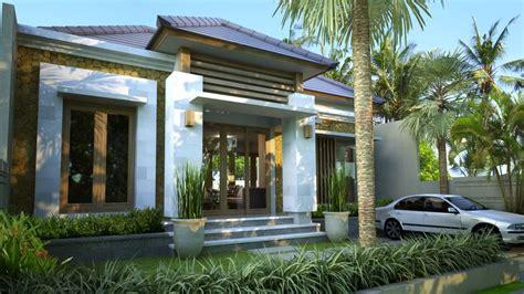 gambar desain rumah desain villa type 85