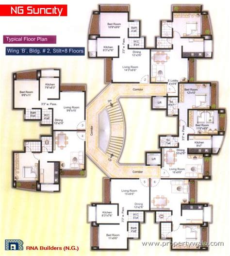 Aläng Floor L by Ng Suncity Phase Ii Kandivali East Mumbai Residential