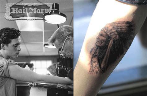 beckham tattoo price celebrity tattoos brooklyn beckham gets his first tattoo